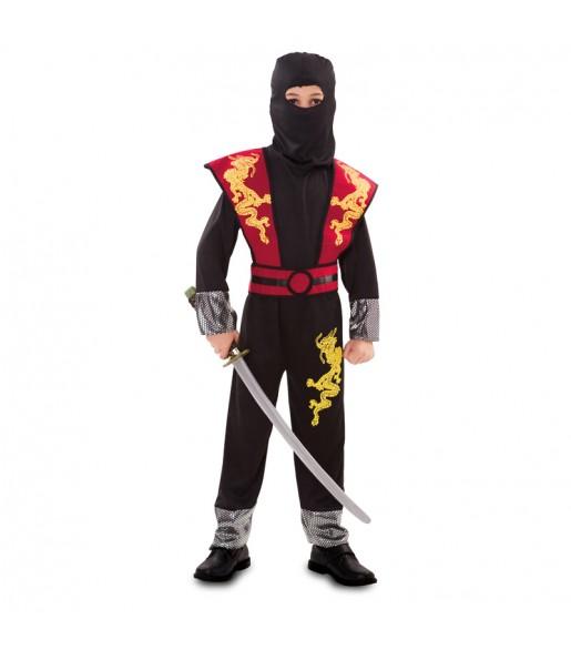 Déguisement Ninja Dragon pour garçon