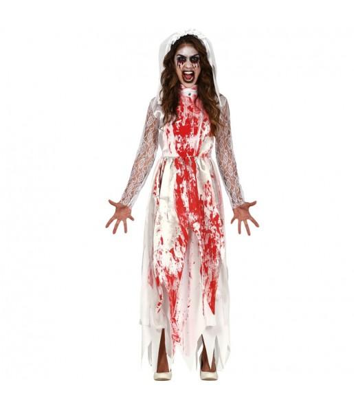 Déguisement Mariée sanglante femme