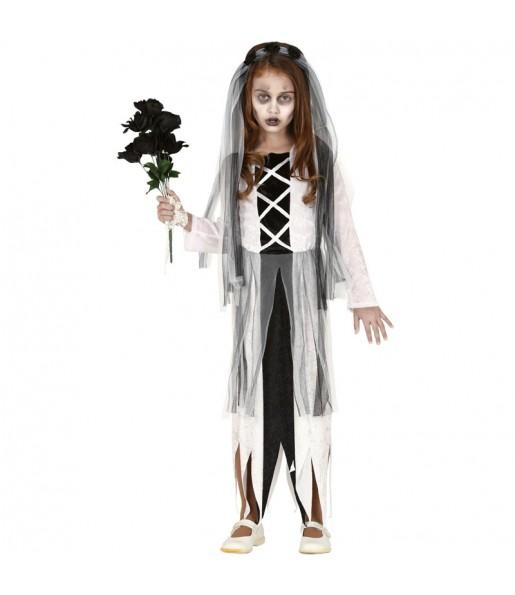 Déguisement Mariée Zombie fille