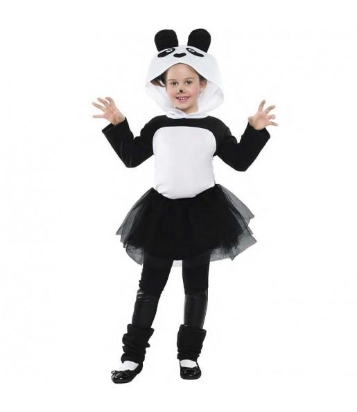 Déguisement Panda avec tulle fille