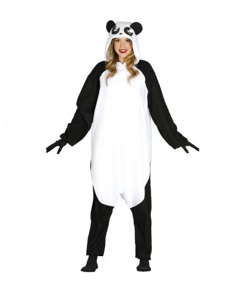 Déguisement Panda Géant Kigurumi Adulte