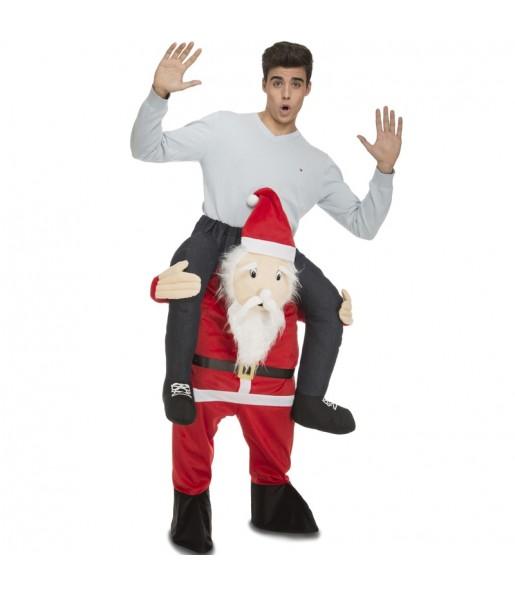 Déguisement Porte Moi Père Noël adulte