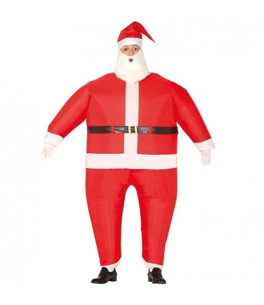 Déguisement Père Noël Gonflable adulte
