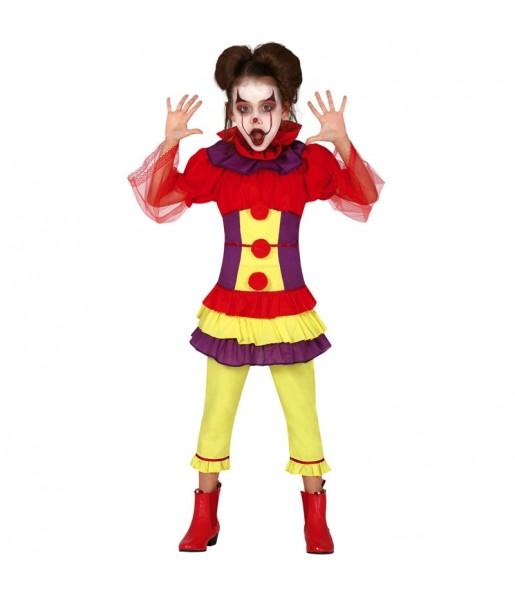 Déguisement Clown Assassin Pennywise fille