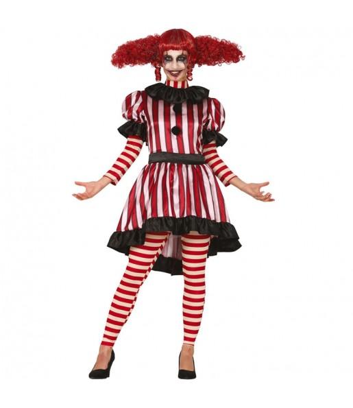 Déguisement Clown terreur femme