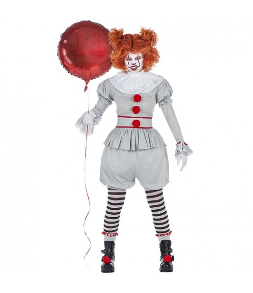 Déguisement Clown It Pennywise Femme