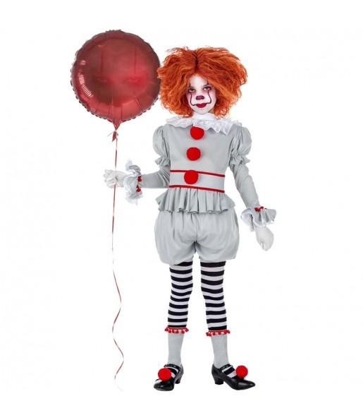 Déguisements Clown it Pennywise fille