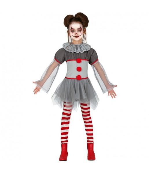 Déguisement Clown Méchante fille