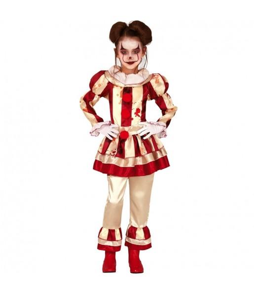Déguisement Clown Perturbée fille