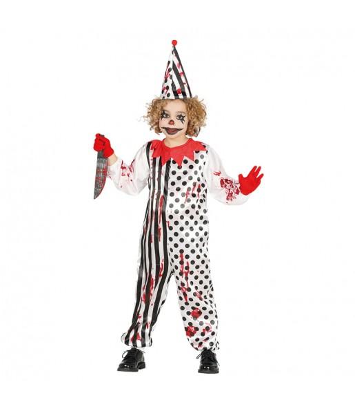 Déguisement Clown Assassin enfant