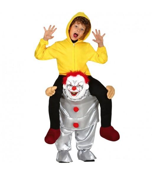 Déguisement Porte Moi Clown It enfant