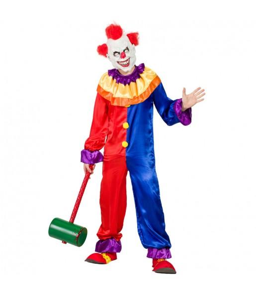 Déguisement Clown Diabolique homme
