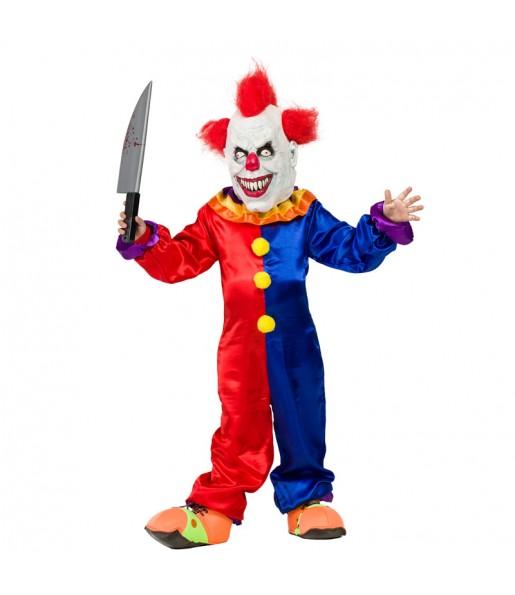 Déguisement Clown Diabolique garçon