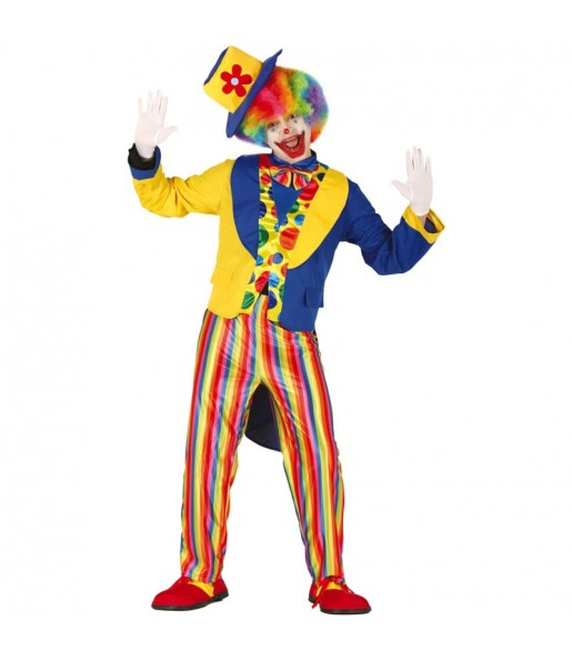 Déguisement Clown Queue de Pied homme