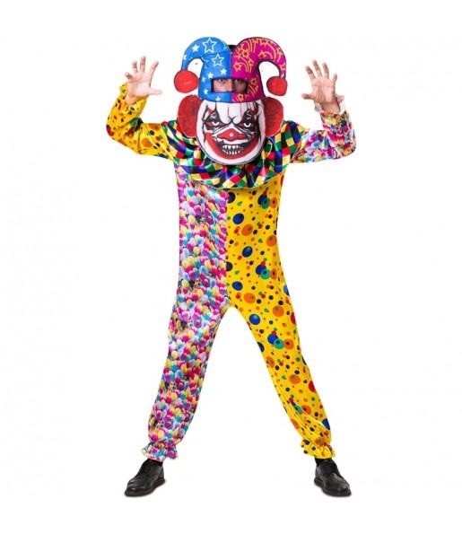 Déguisement Killer Clown Grosse Tête adulte