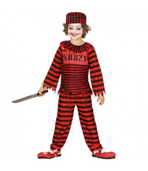 Déguisement Clown Psycho garçon