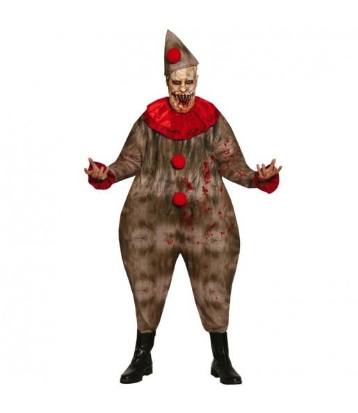 Déguisement Clown Éffrayant homme