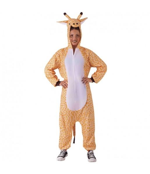 Déguisement Pyjama Girafe adulte