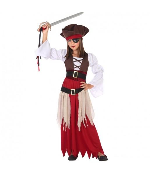 Déguisement Pirate des Caraïbes fille