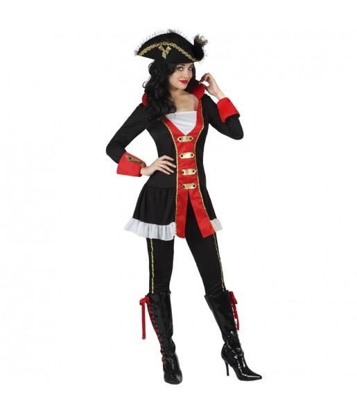 Déguisement Pirate des océans femme