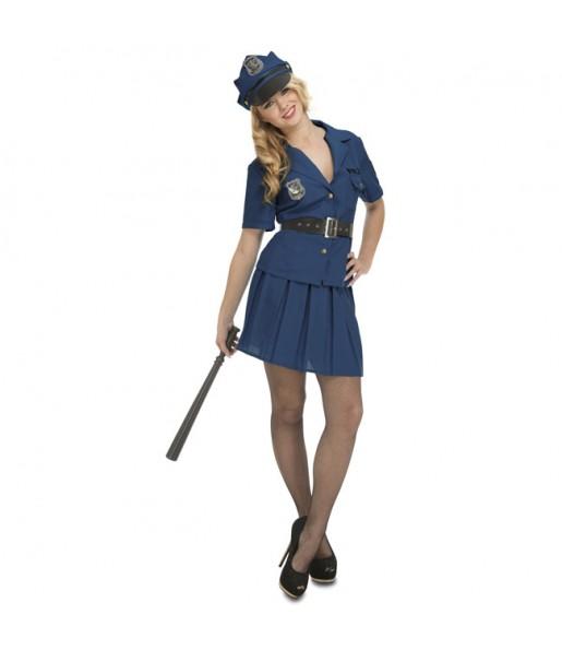 Déguisement Policière New York pour femme