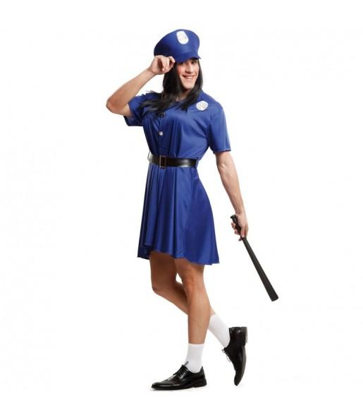 Déguisement Police woman pour homme