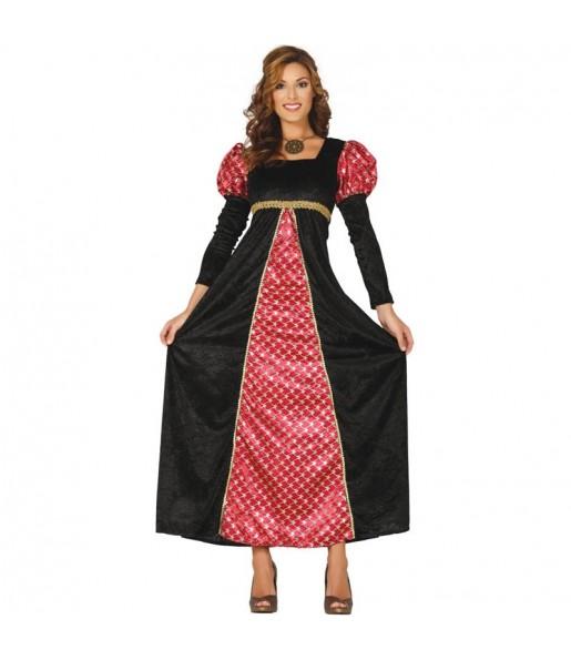 Déguisement Princesse Médiévale de la Court femme