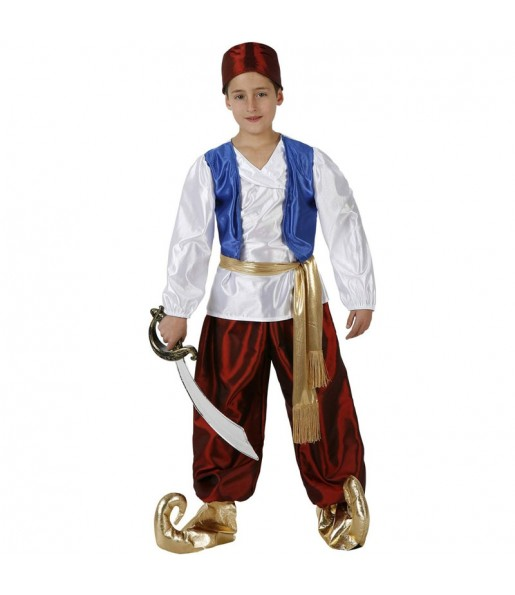Déguisement Prince Aladdin garçon