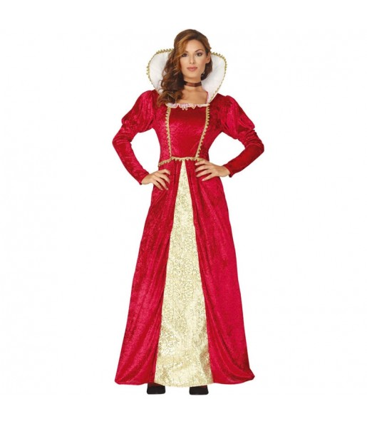 Déguisement Reine Renaissance femme