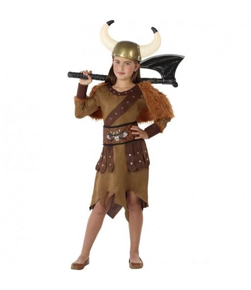 Déguisement Reine Viking fille