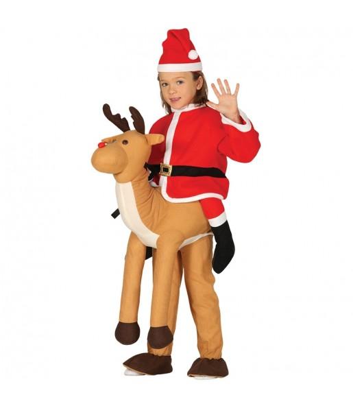 Déguisement Porte Moi Renne Père Noël enfant