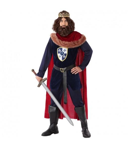 Déguisement Roi Médiéval templier homme