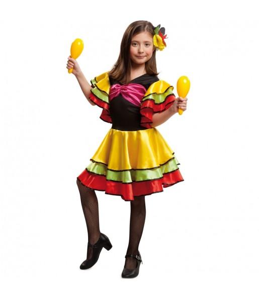 Déguisement Danseuse Rumba Brésil pour fille