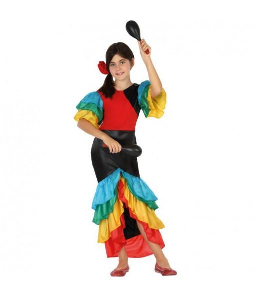 Déguisement Danseuse Rumba Tropicale