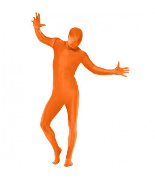 Déguisement Seconde peau orange adulte