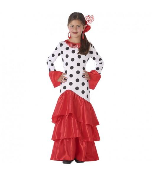 Déguisement Danseuse Flamenco Giralda fille