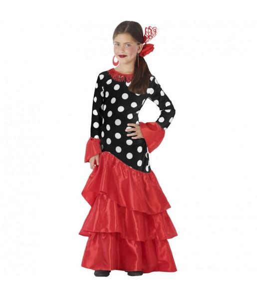 Déguisement Danseuse Flamenco Triana fille