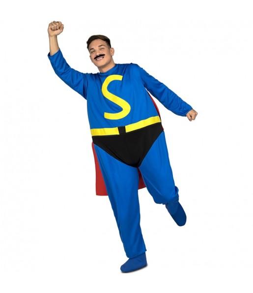 Déguisement Gros Super-héros adulte