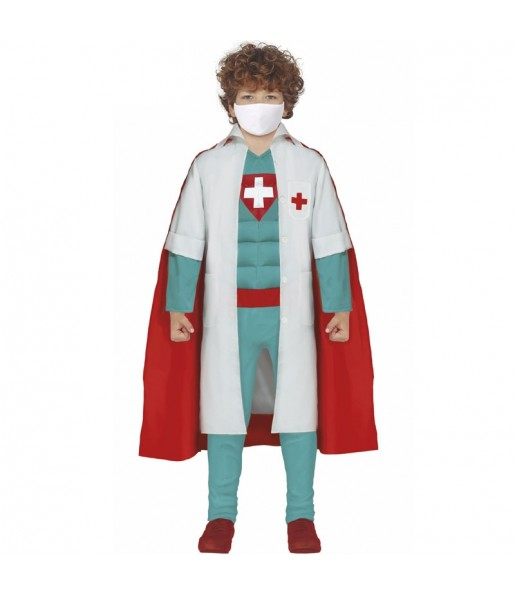 Déguisement Super Docteur garçon