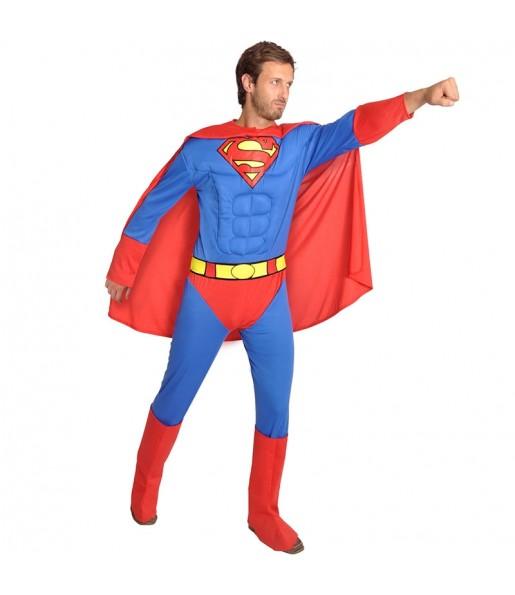 Déguisement Superman musclé Classic homme