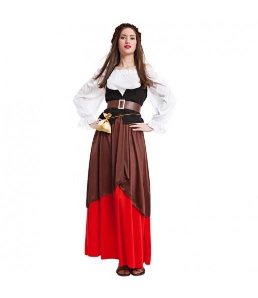 Déguisement Paysanne Médiévale pour femme