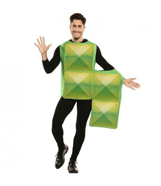 Déguisement Tetris Vert homme