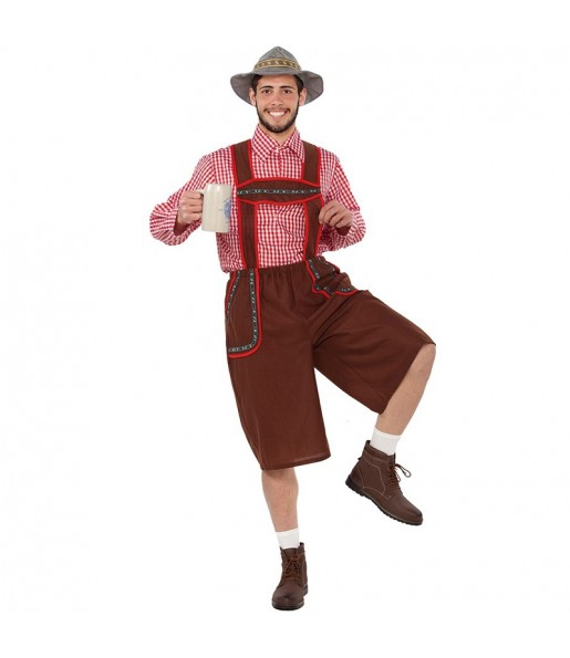 Déguisement Tyrolien Yodel