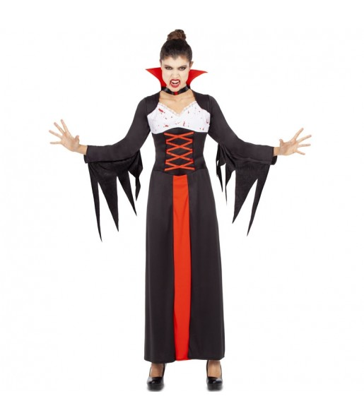 Déguisement Vampiresse Ensanglantée femme