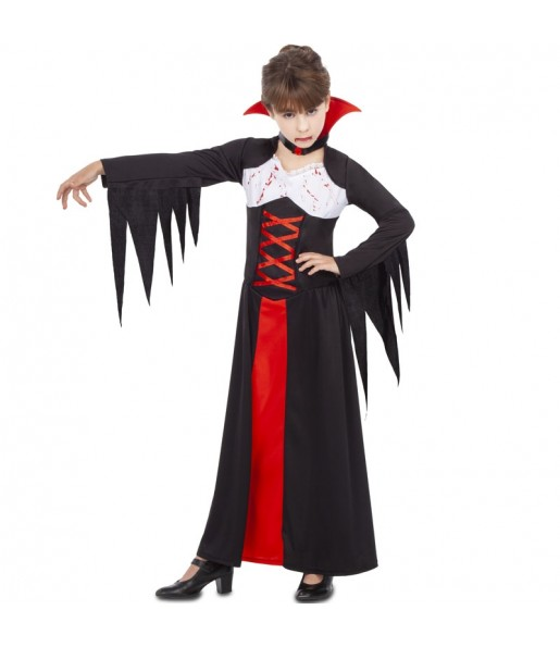 Déguisement Vampiresse Ensanglantée fille