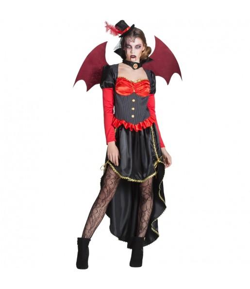 Déguisement Vampiresse Victorienne avec ailes femme