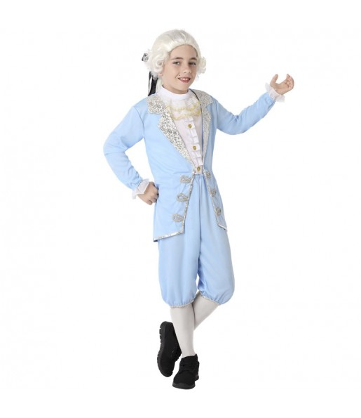 Déguisement Vénitien Époque Bleu garçon