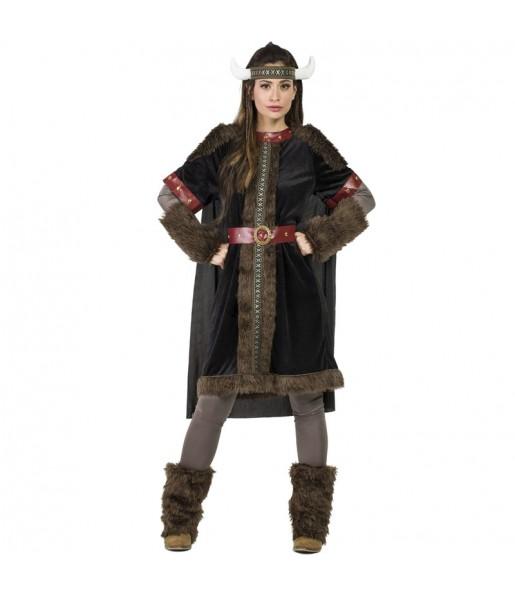 Déguisement Viking Black pour femme