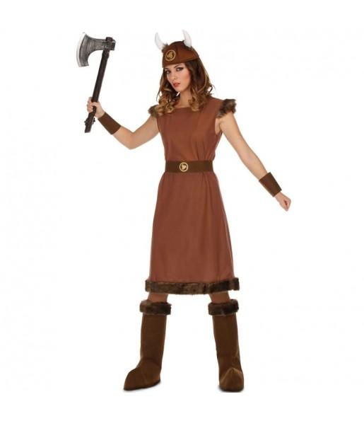 Déguisement Viking Guerrière femme
