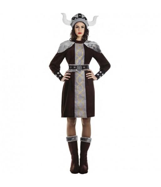 Déguisement Viking sauvage femme